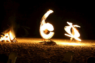 Ko Pha Ngan fire displays