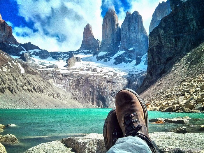 backpacking route for Chile