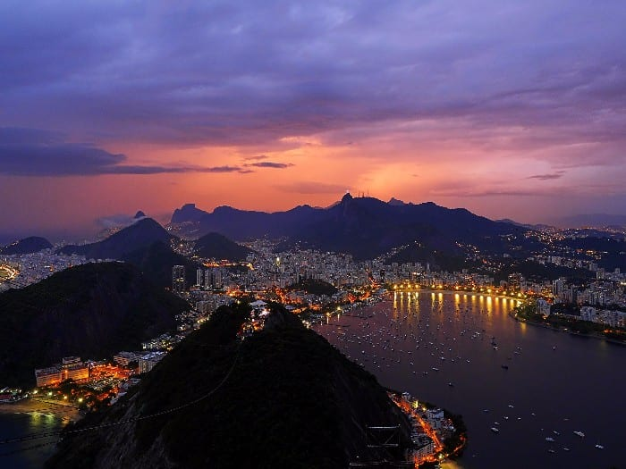 Backpacking Route for Brazil