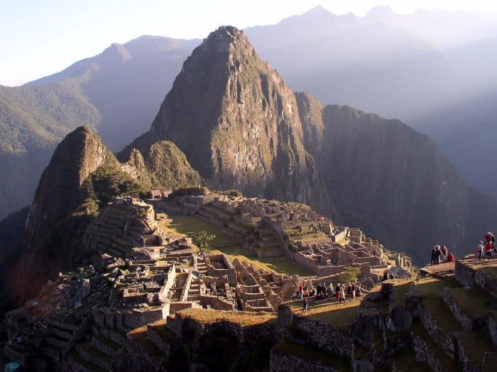 Peru backpacking route