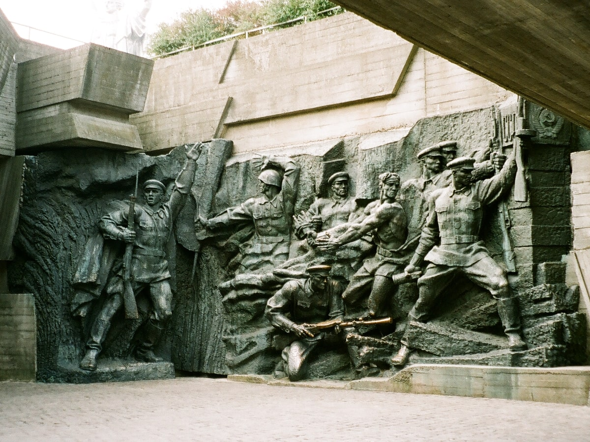 Visiting Kyiv - soviet realist structures