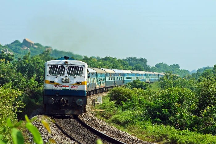 Travelling around India by train