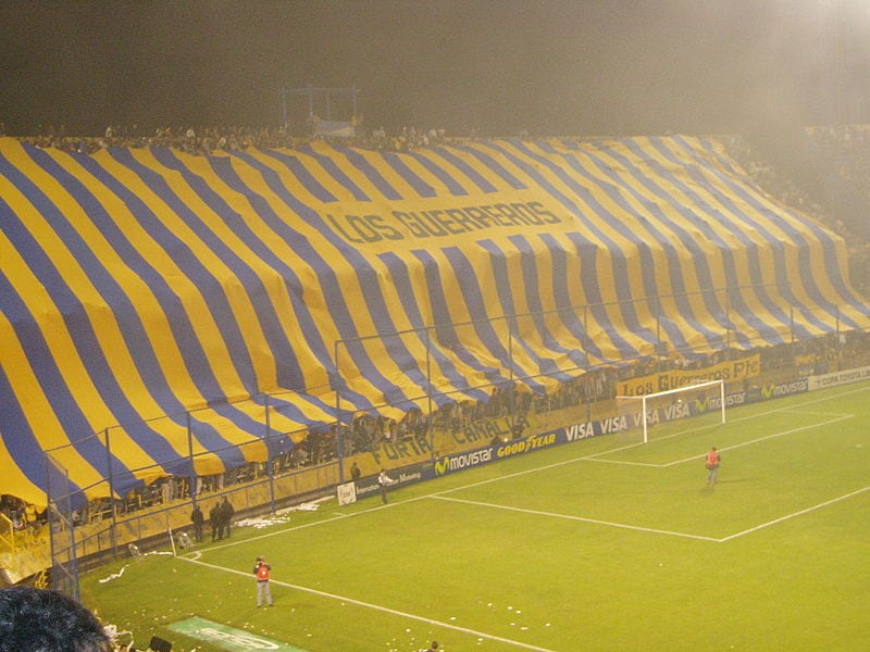 Rosario Central supporters