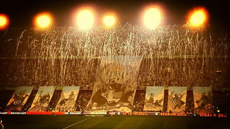 Real Betis fans