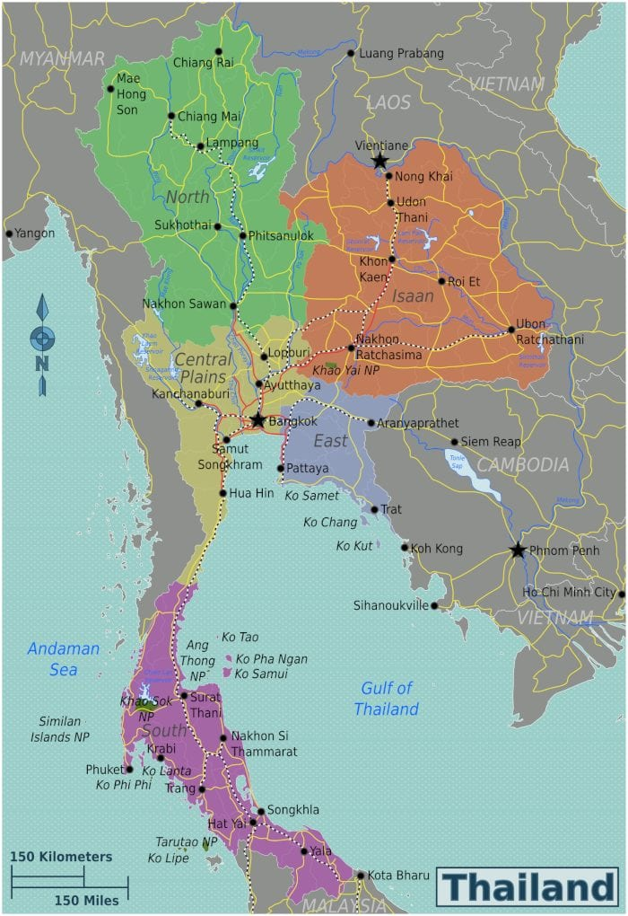 Thailand Backpacking Budget