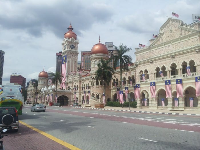 most popular backpacking destinations - Malaysia