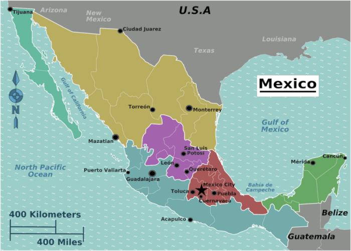Mexico cost of travel - backpacking budget