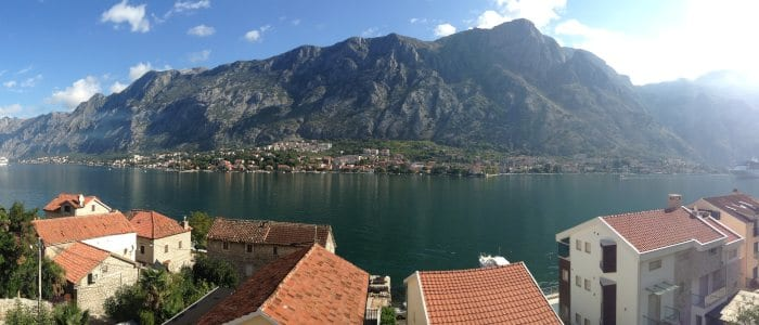 Backpacking route for Montenegro