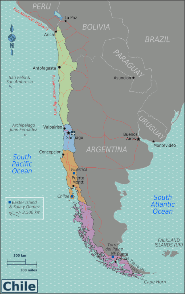 cost of travel in Chile