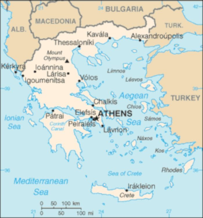 cost of travel in Greece