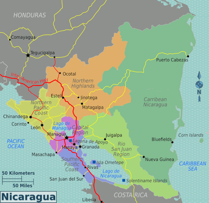 cost of travel in Nicaragua