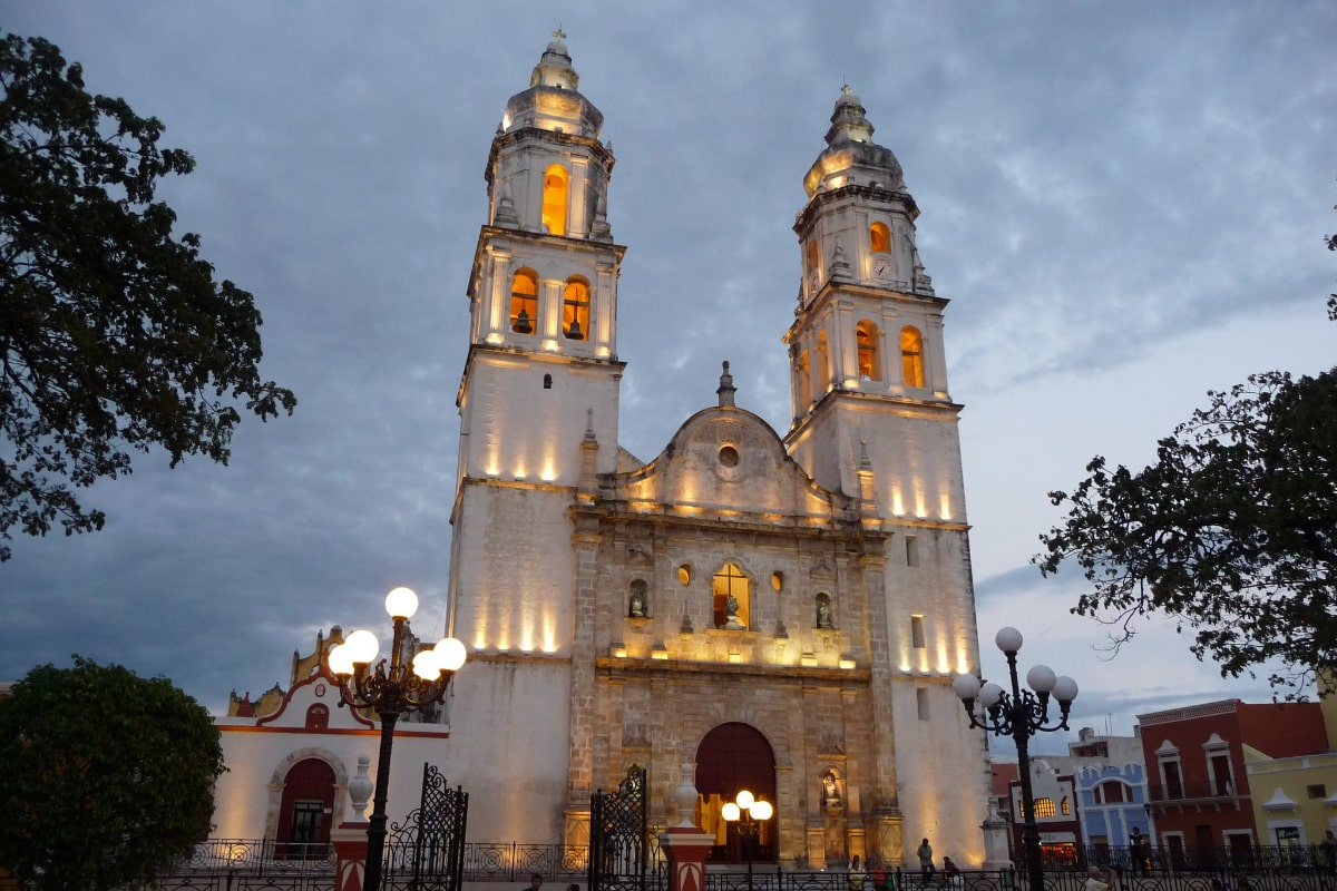 Mexico backpacking route