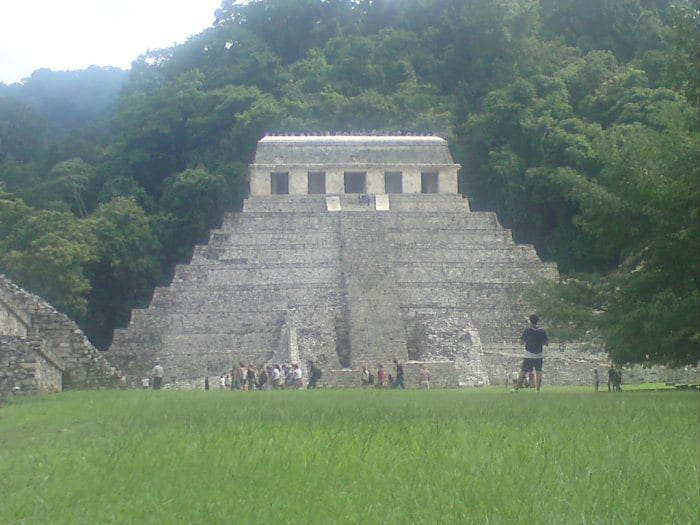 Central America travel route