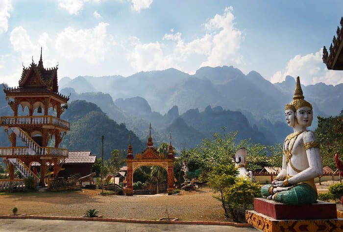 Laos Backpacking Route