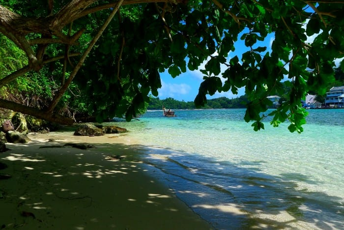 Jamaica backpacking route
