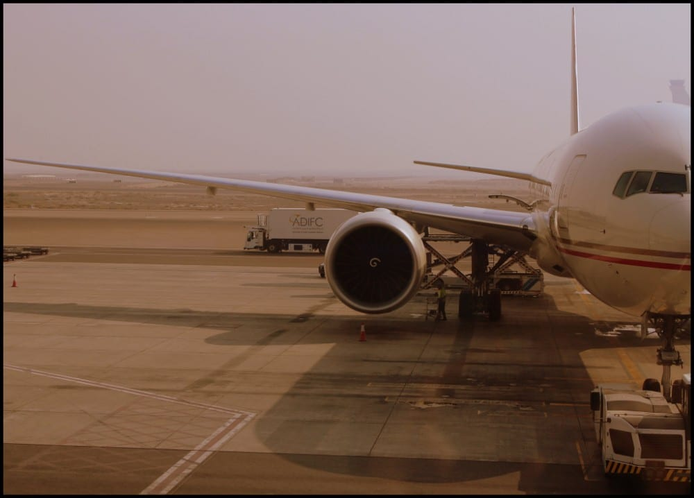 airline hubs in the Middle East