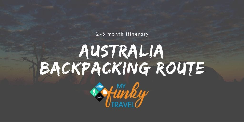 australia backpacking route