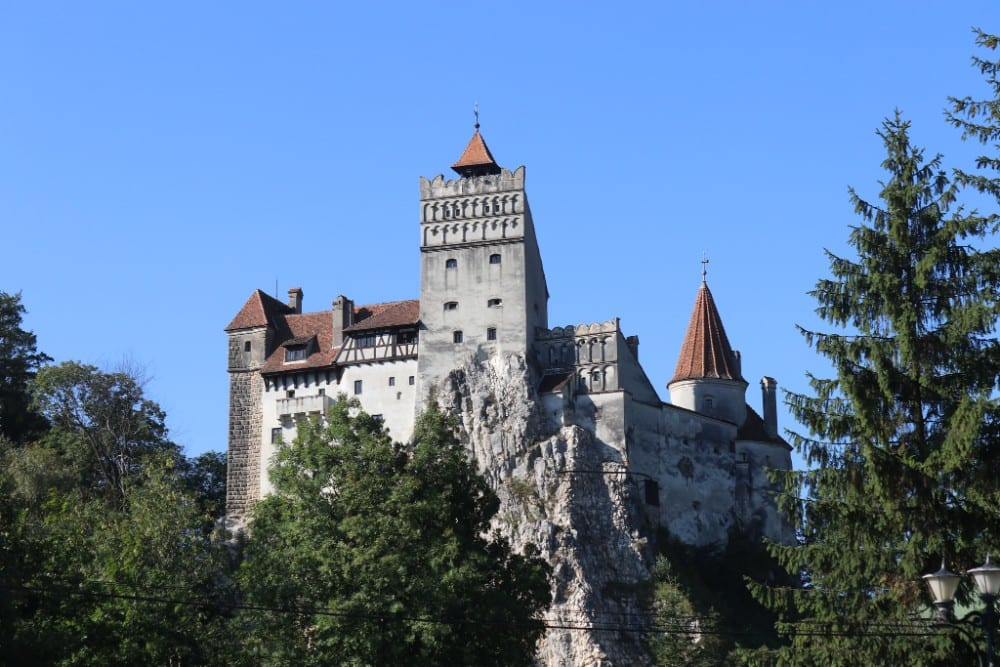 Romania backpacking route