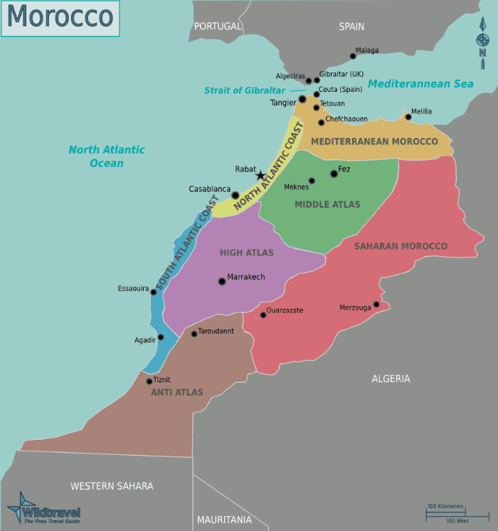 Morocco travel costs