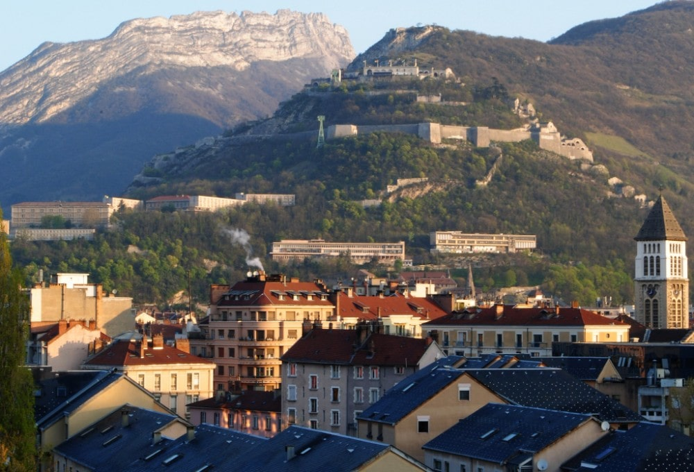 mountain cities in France