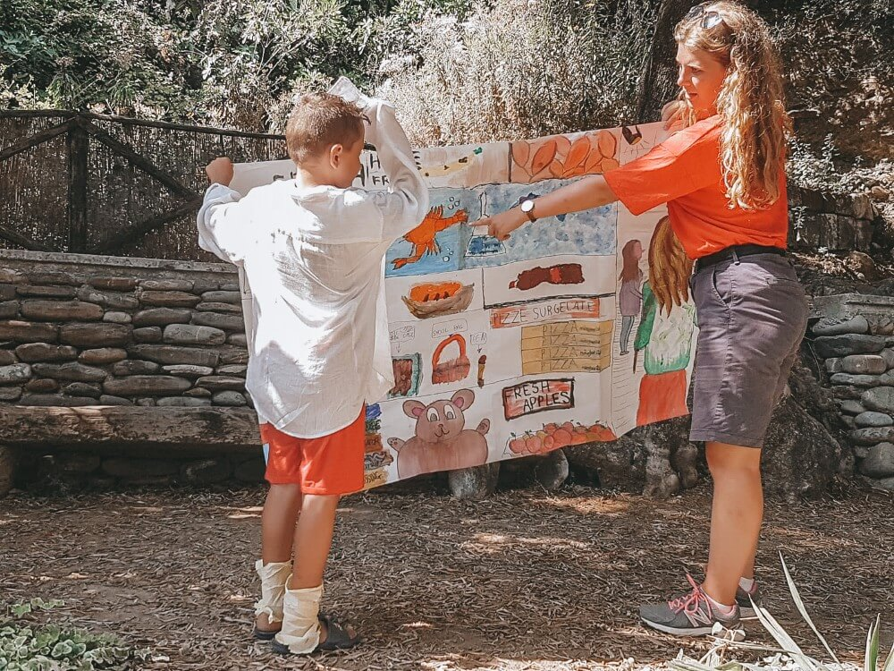 Work in Italy - summer camp