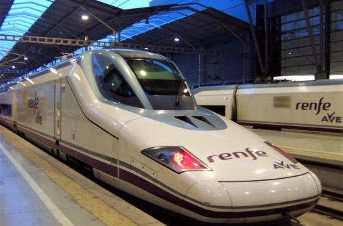 Renfe AVE train